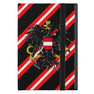 Capa iPad Mini O austríaco listra a bandeira