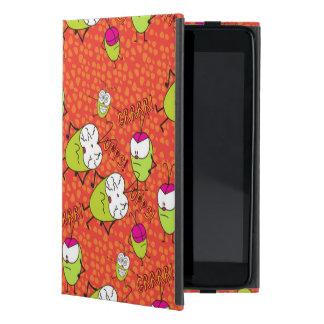 Capa iPad Mini O divertimento ilustrou o teste padrão de Pulga na