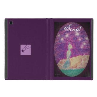 Capa iPad Mini O rouxinol lírico da fantasia escolhe a cor do