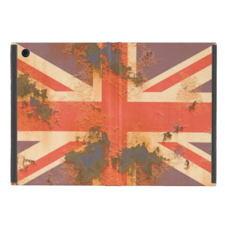 Capa iPad Mini O vintage oxidou bandeira de Reino Unido