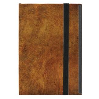 Capa iPad Mini Olhar de couro bonito e sensação rústica