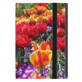 Capa iPad Mini Ondas florais dos carmesins de Falln