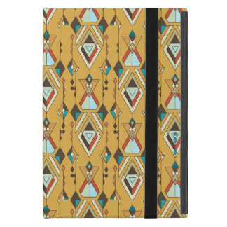 Capa iPad Mini Ornamento asteca tribal étnico do vintage