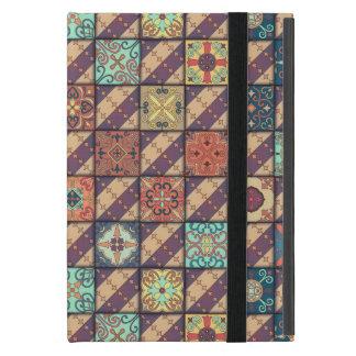 Capa iPad Mini Ornamento de talavera do mosaico do vintage