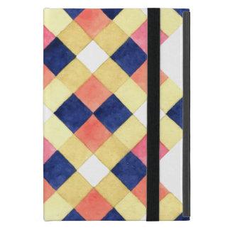 Capa iPad Mini Padrões geométricos coloridos legal