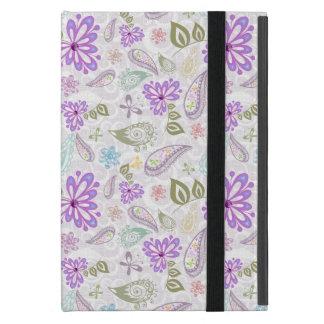 Capa iPad Mini Padrões pastel coloridos bonitos de paisley
