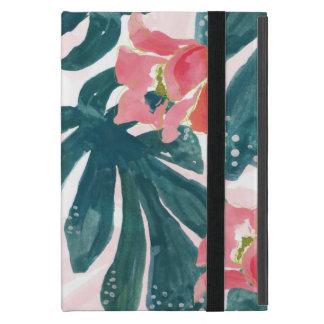 Capa iPad Mini Palma tropical de Watercolot, Hibiskus havaiano