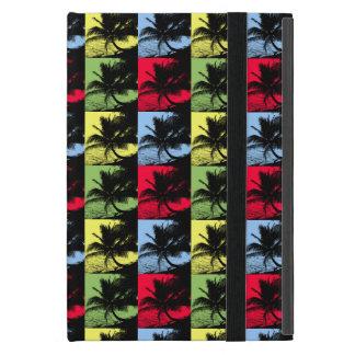 Capa iPad Mini Palmeiras tropicais no teste padrão de Posterised