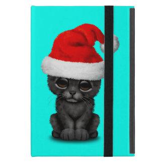 Capa iPad Mini Pantera preta bonito Cub que veste um chapéu do