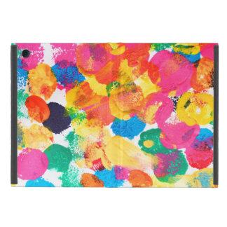 Capa iPad Mini Pintura abstrata colorida bonito