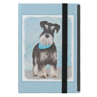 Capa iPad Mini Pintura (diminuta) do Schnauzer - cão original