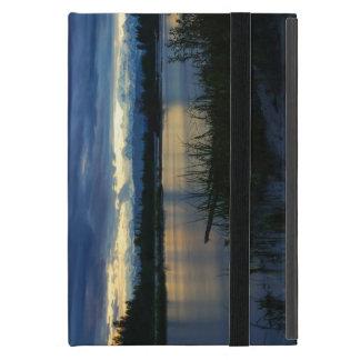 Capa iPad Mini Por do sol da meia-noite de Denali