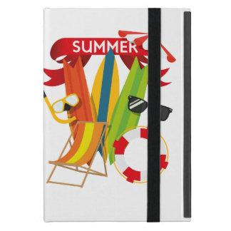 Capa iPad Mini Praia Watersports do verão