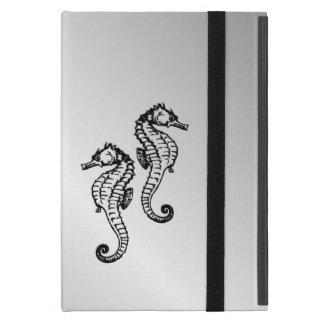 Capa iPad Mini Prata do cavalo marinho