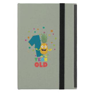 Capa iPad Mini Primeira festa de aniversário Zpuo7 do bebê de um