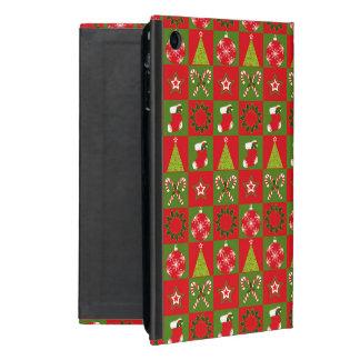 Capa iPad Mini Quadrados decorativos do feriado