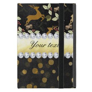 Capa iPad Mini Quadro dos diamantes dos confetes dos cervos do