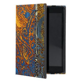 Capa iPad Mini Redemoinho azul de Jean de três tons