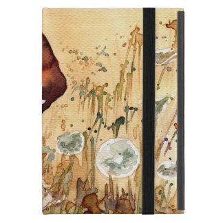 Capa iPad Mini Retrato abstrato 3
