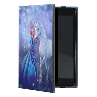 Capa iPad Mini Rhiannon - caso do iPad da arte do unicórnio e da