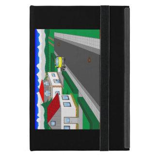 Capa iPad Mini Ruas e construção de casa