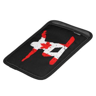 Capa iPad Mini SNOWBOARDER da folha de bordo (preto)