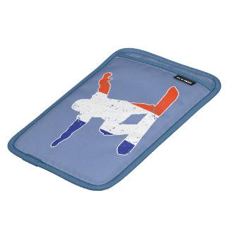 Capa iPad Mini SNOWBOARDER Tricolor francês (branco)