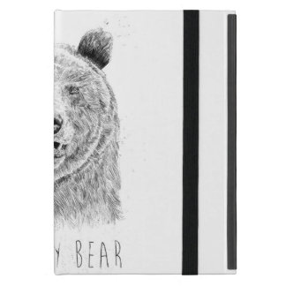Capa iPad Mini Soe meu urso (bw)