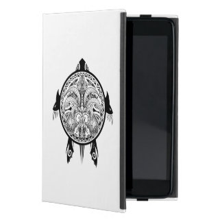 Capa iPad Mini Tatuagem tribal do protetor da tartaruga