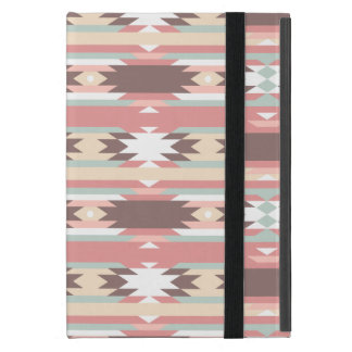 Capa iPad Mini Teste padrão asteca tribal colorido