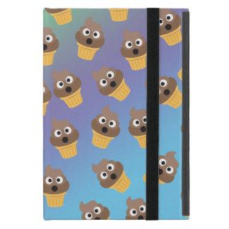 Capa iPad Mini Teste padrão bonito do cone do sorvete de Emoji do