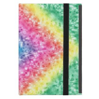 Capa iPad Mini Teste padrão colorido do arco-íris