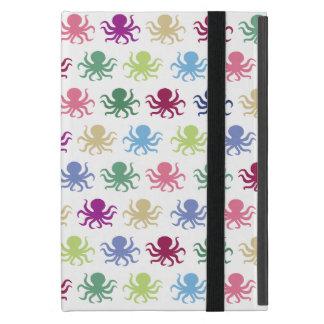 Capa iPad Mini Teste padrão colorido do polvo