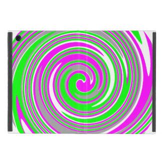 Capa iPad Mini Teste padrão colorido do redemoinho