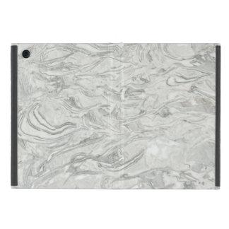 Capa iPad Mini Teste padrão de superfície de mármore cinzento