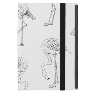 Capa iPad Mini Teste padrão do flamingo