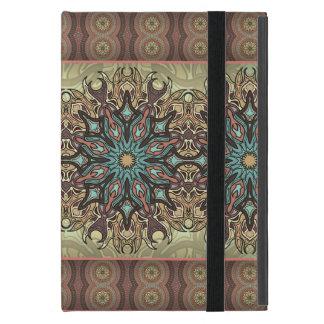 Capa iPad Mini Teste padrão floral étnico abstrato colorido da