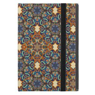 Capa iPad Mini Teste padrão floral étnico abstrato colorido de da