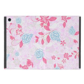 Capa iPad Mini Teste padrão floral pastel colorido bonito