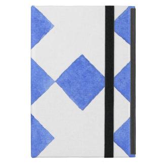 Capa iPad Mini Teste padrão geométrico azul