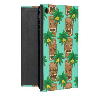 Capa iPad Mini Teste padrão havaiano da repetição de Tiki