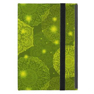 Capa iPad Mini Teste padrão luxuoso floral da mandala