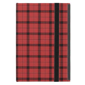 Capa iPad Mini Teste padrão vermelho do feriado do Natal do