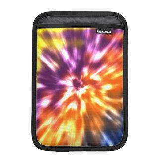 Capa iPad Mini Tintura retro Boho colorido do laço da paz do