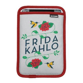 Capa iPad Mini Tipografia floral de Frida Kahlo |