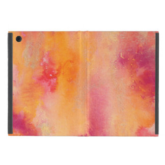 Capa iPad Mini Tocado pelo Watercolour do fogo