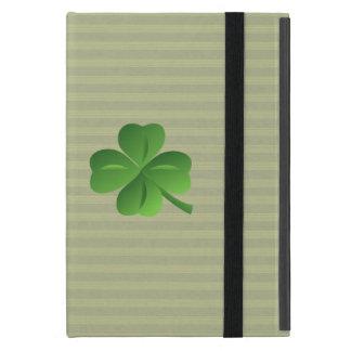 Capa iPad Mini Trevo afortunado irlandês na moda elegante