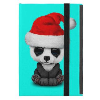Capa iPad Mini Urso de panda do bebê que veste um chapéu do papai