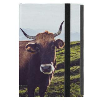 Capa iPad Mini Vaca bovina na paisagem bonita