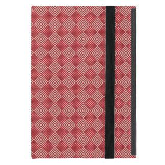 Capa iPad Mini Vermelho carmesim & creme de Cornsilk